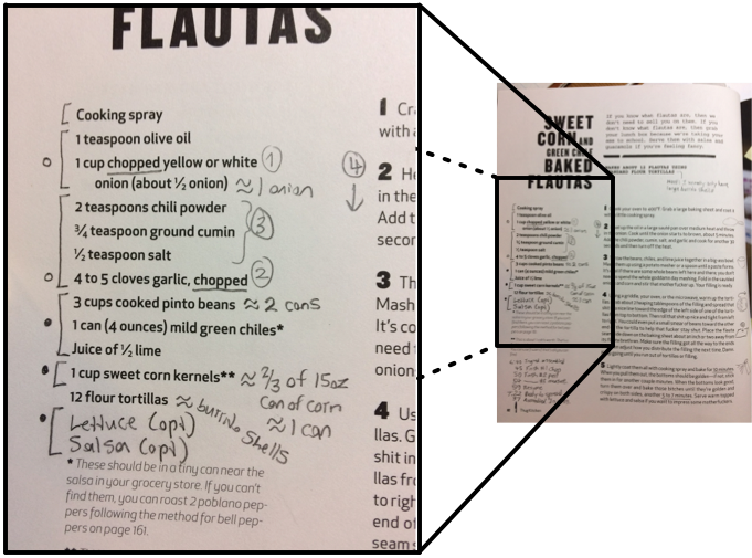 How to annotate a new recipe   DaFoster